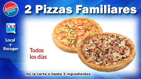 Duomos Pizza Familiar Local Recoger