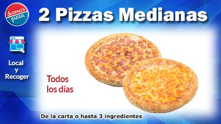 Duomos Pizza Mediana Local Recoger