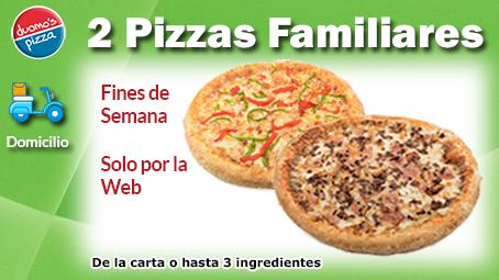 Duomos Pizza Domicilio 1 Familiar Fin de Semana