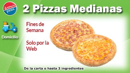 Duomos Pizza Domicilio 2 Mediana Fin de Semana