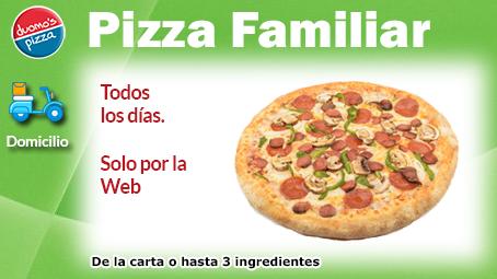 Duomos Pizza Domicilio Familiar Semana