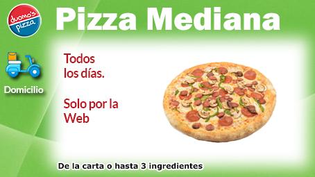 Duomos Pizza Domicilio 1 Mediana Semana