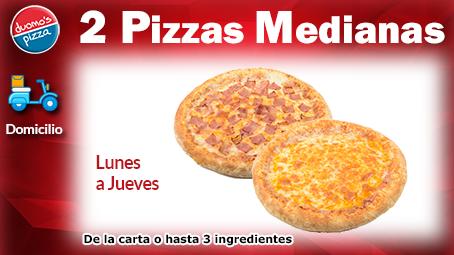 Duomos Pizza Mediana Lunes a Jueves
