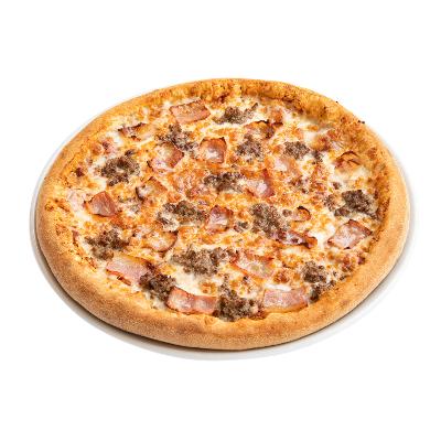 Duomo Pizza Bacon Cheese Burger
