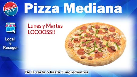 Duomos Pizza Lunes y martes